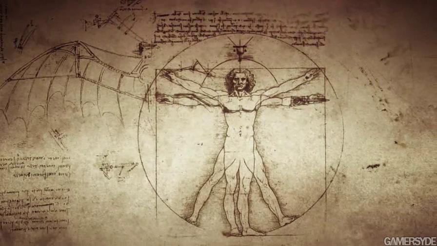 几件达芬奇发明设计图