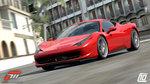 La Ferrari 458 Italia aussi dans Forza 3 - Ferrari 458 Italia