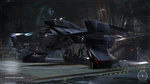 Screens of Star Citizen's FPS module - Mustang Ship Render