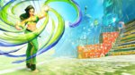 Street Fighter V unveils Laura - Laura Matsuda Key Art