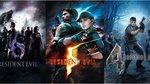 Resident Evil 4, 5 et 6 sur PS4/X1 - Key Art