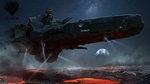 Hero Ships Concept Arts