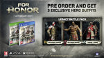 E3: For Honor videos, screenshots - Pre-Order Bonus