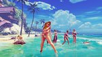<a href=news_street_fighter_v_balrog_arrive-18093_fr.html>Street Fighter V : Balrog arrive</a> - Karin Summer Costume - Kanzuki Beach Stage