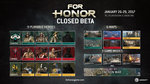 For Honor: Metagame & Beta access - Closed Beta Infograhpic