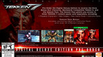 <a href=news_tekken_7_release_date_and_eliza_trailer-18722_en.html>Tekken 7: release date and Eliza trailer</a> - Deluxe Edition - Digitel Deluxe Pre-Order Bonus