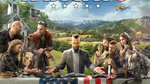 Far Cry 5 characters depicted - Key Art
