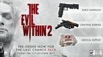 New trailer of The Evil Within 2 - The Last Chance Pack