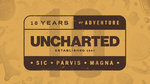 Uncharted celebrates 10 years of adventure - 10 Years Logo