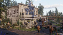 Landscape and towns of Red Dead Redemption 2 - 14 screenshots