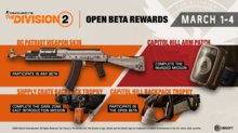 The Division 2: Open Beta Trailer - Beta Rewards