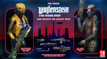 <a href=news_wolfenstein_youngblood_launches_july_26-20772_en.html>Wolfenstein: Youngblood launches July 26</a> - Legacy Pack Pre-Order Bonus