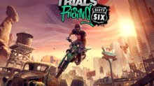 Trials Rising prend la Route 66 - Sixty-Six Key Art