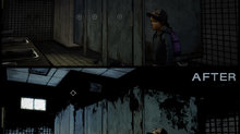The Walking Dead: The Telltale Definitive Series coming Sept. 10 - Graphic Black Comparison