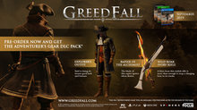 GreedFall new screens, 4K and HDR support announced - Pre-Order Incentive