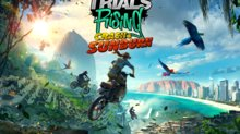 GC: Trials Rising donne une date pour Crash & Sunburn - Crash & Sunburn Key Art