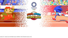 GC: Mario & Sonic at the Olympic Games Tokyo 2020 gets 2D events - 2D Key Art