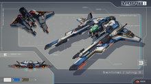 Everspace 2 parle histoire et engin spatial - Player Ships Artworks