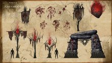 The Elder Scrolls Online: Vampires and Greymoor chapter coming in The Dark Heart of Skyrim - Greymoor Concept Arts