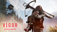 Vigor's Season 2 Hunters has launched - Season 2 Hunters Key Art