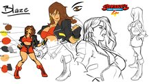 Lizardcube explains the art of Streets of Rage 4 - Concept Arts