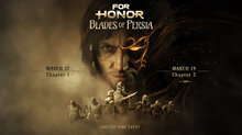 <a href=news_prince_of_persia_revient_pour_un_evenement_dans_for_honor_-21453_fr.html>Prince of Persia revient... pour un événement dans For Honor </a> - Blades of Persia Event Key Art