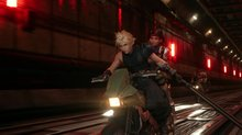GSY Review : Final Fantasy VII Remake - Fichier: PS4 Pro - SPOIL Motorcycle Chase (3840x2160)