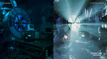 Observer: System Redux Gameplay Demo - Graphics Comparison screens