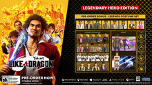 SEGA confirms Yakuza: Like a Dragon on PS5 - Day Ichi Edition - Legenday Hero Edition