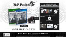 NieR Replicant ver.1.22 reveals extra content - Digital Pre-Order Incentives