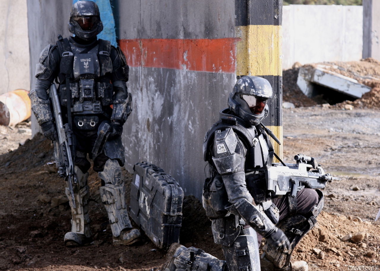 Behing The Scenes Images From Neil Blomkamp Halo 3 Short Movie