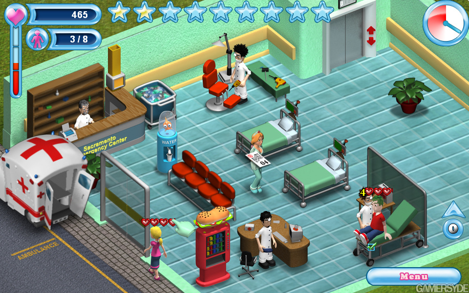 Sarah's Emergency Room - since we're not getting Theme Hospital 2
