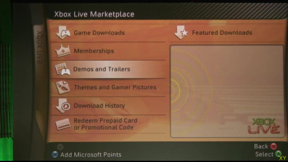X05: Long Xbox 360 dashboard video - Gamersyde