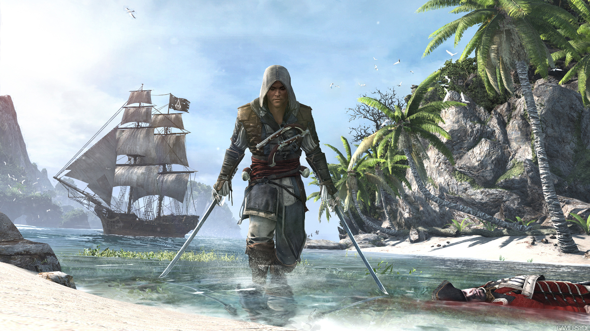 image assassin s creed iv black flag 21549 2670 0001 برخاسته از میان دزدان دریایی / اولین نگاه به Assassins Creed 4: Black Flag