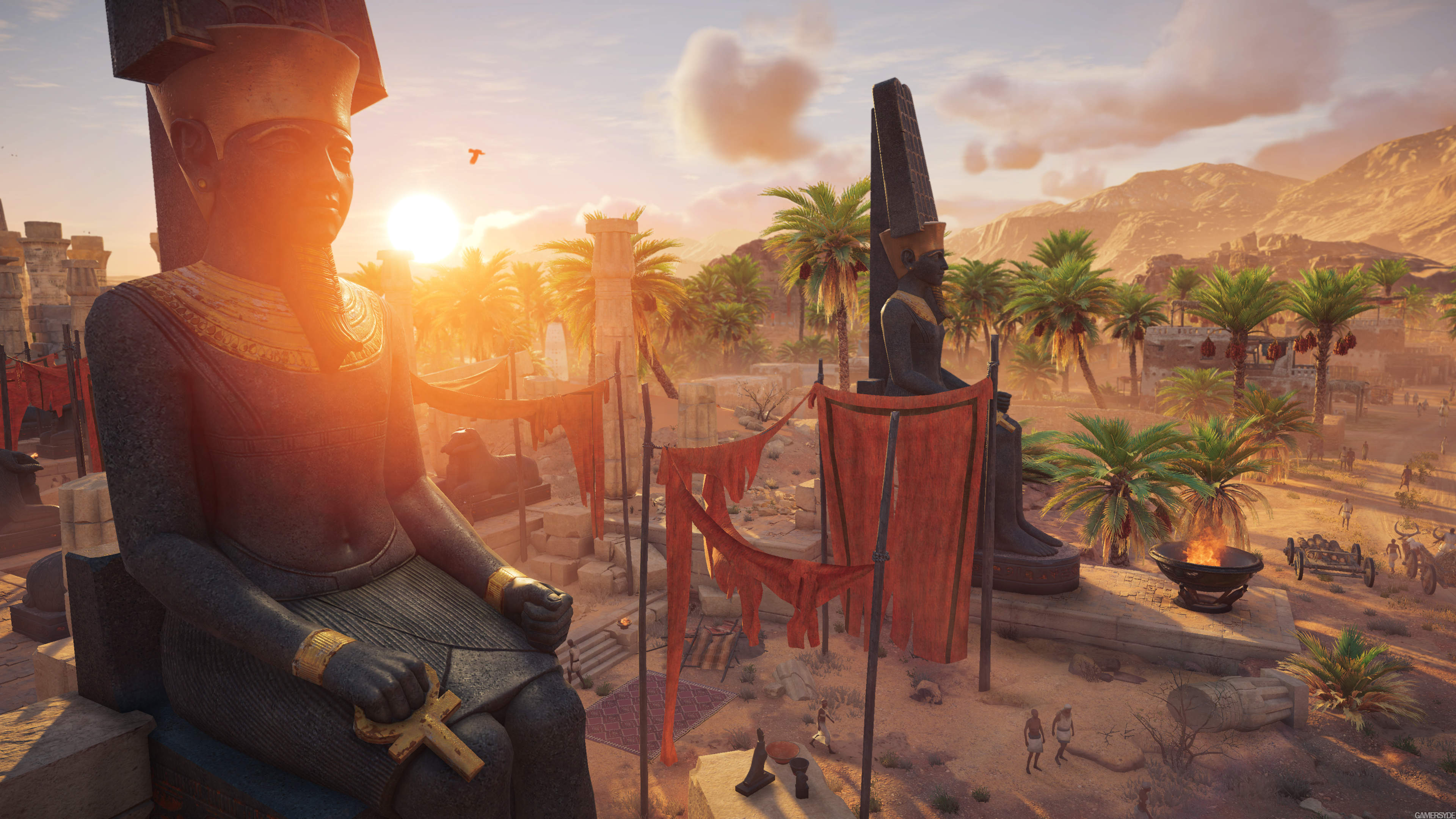 E3 Assassin S Creed Origins Trailer Gamersyde