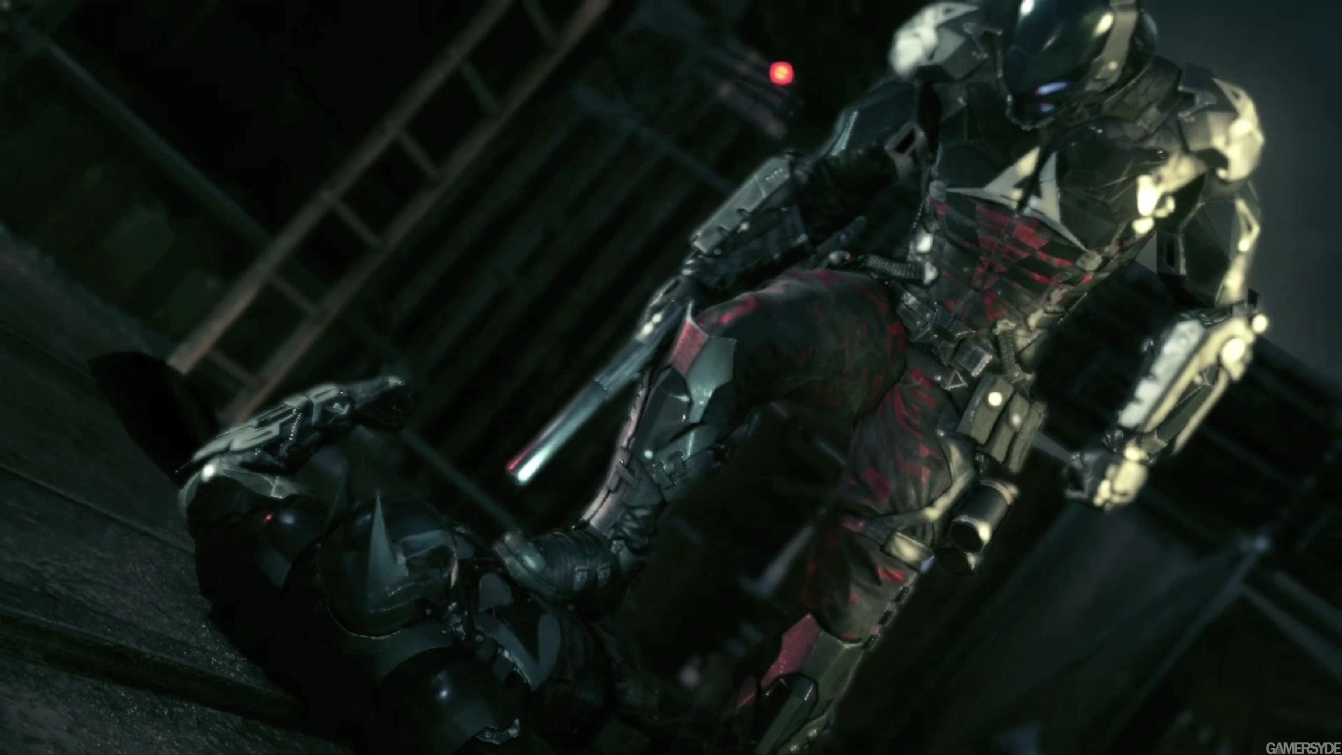 image batman arkham knight 25050 2899 0015 اولین تریلر گیم پلی Batman : Arkham Knight منتشر شد : حماسه ی نهایی