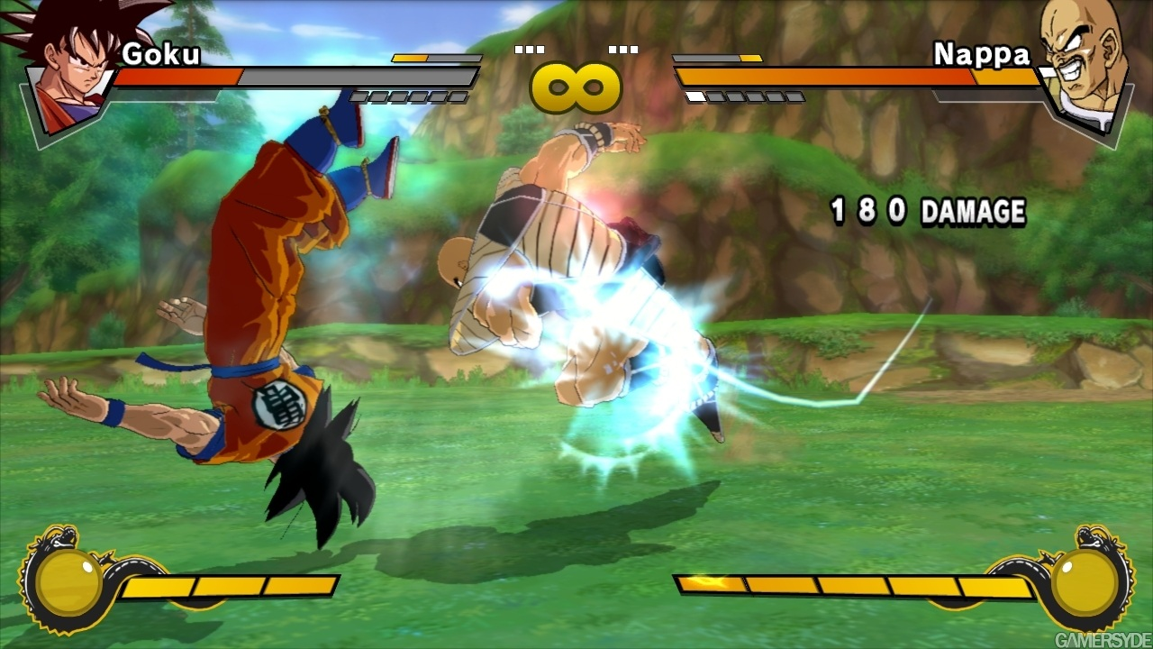 Dragon ball z burst limit screenshots, images and pictures.