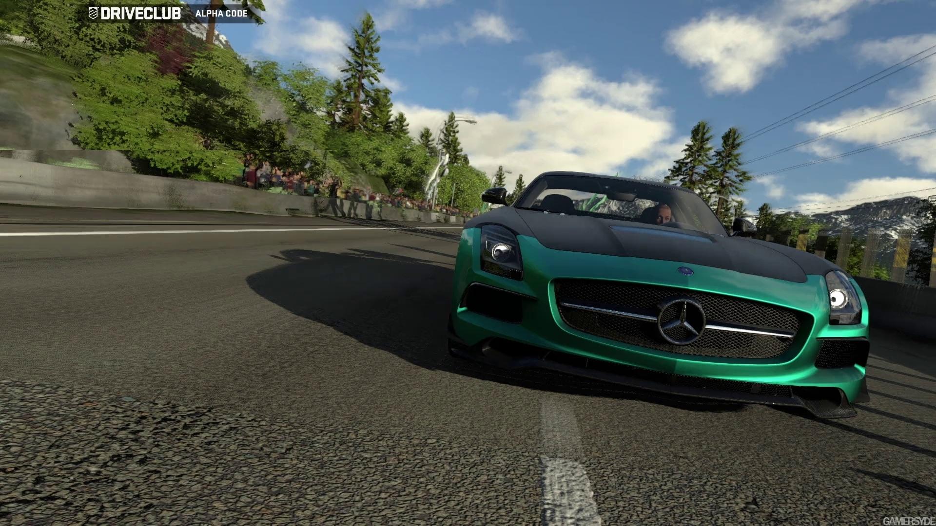 تصاویری از بازی زیبای Drive Club