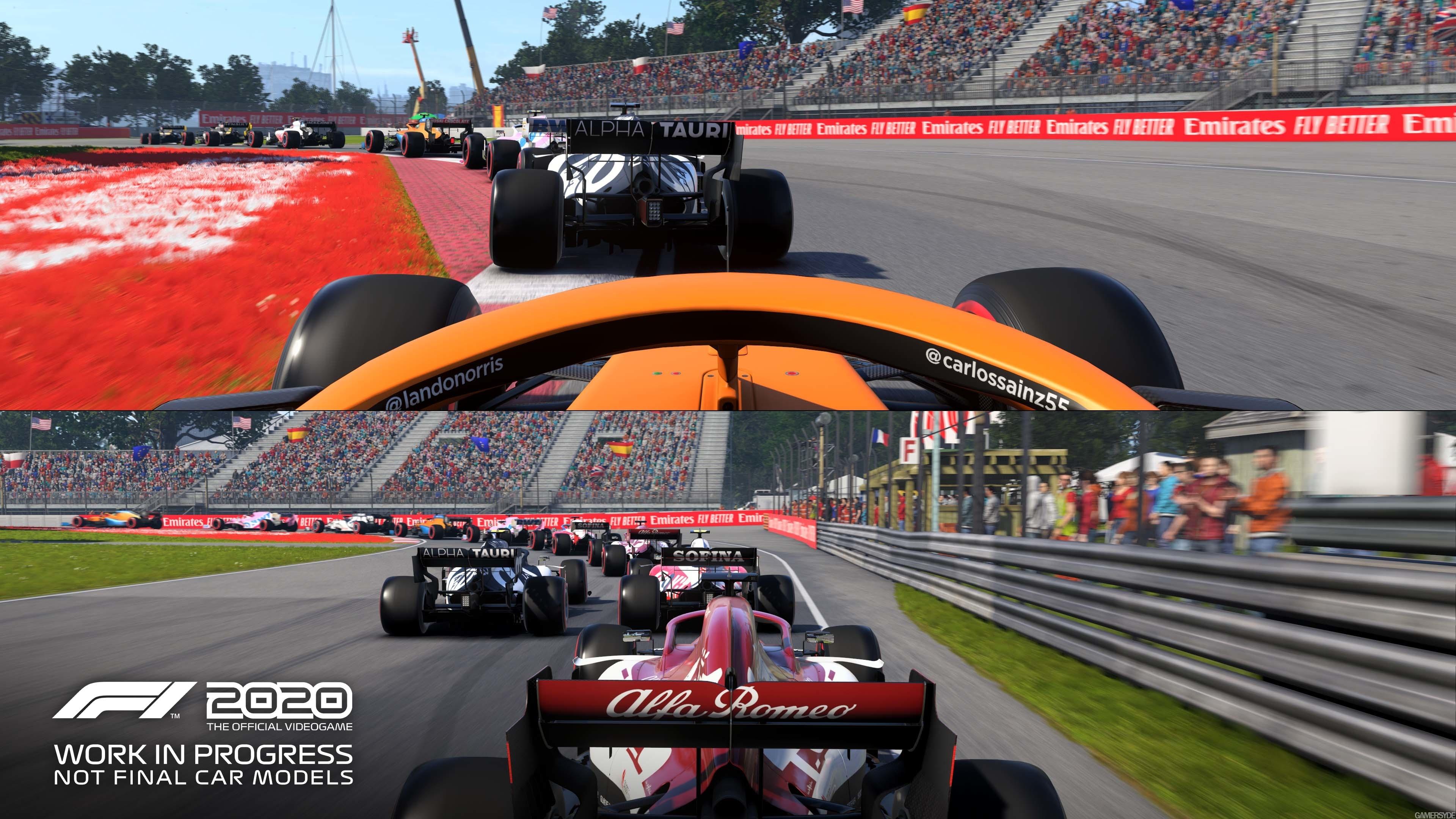 F1 2020 showcases split-screen gameplay - Gamersyde