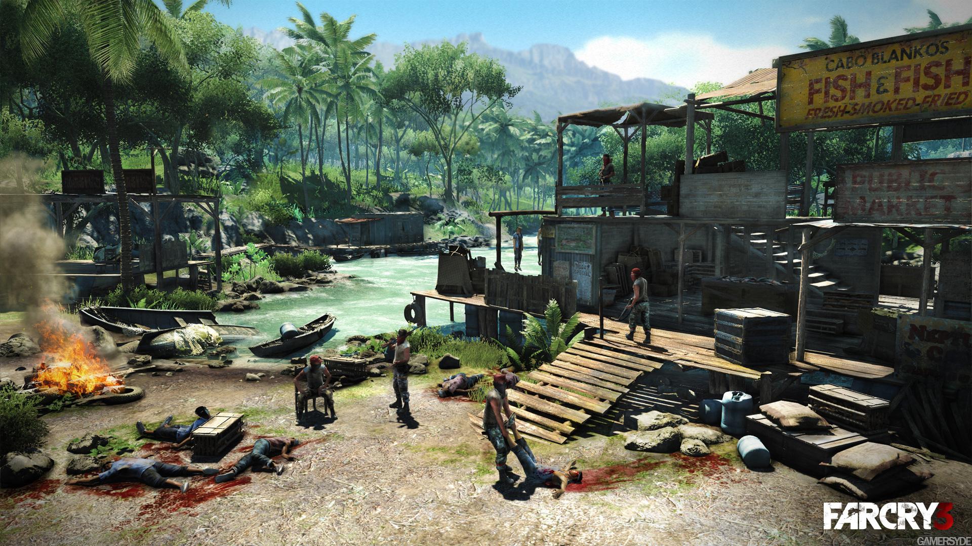 孤岛惊魂3| 最新视频及画面(6月10日) - 游戏业界区