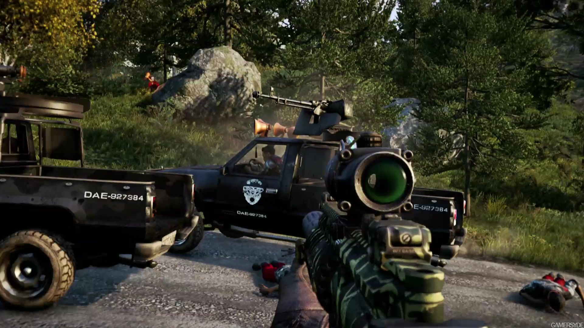 how to use weapon wheel in far cry 4