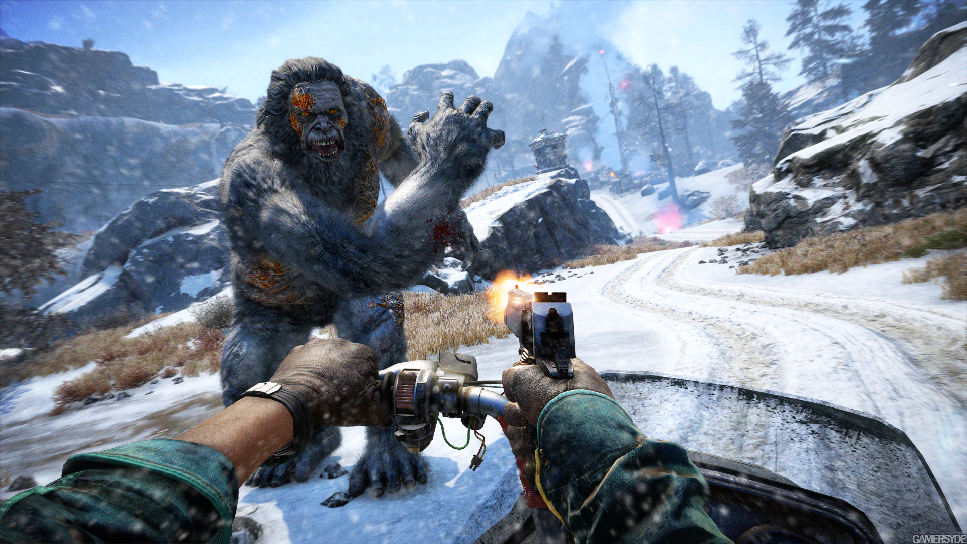 Far Cry 4 Valley Of The Yetis Trailer Gamersyde
