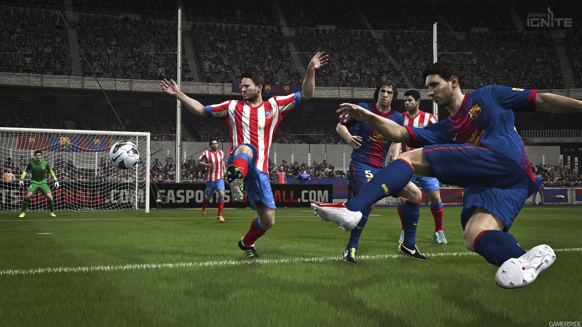 image fifa 14 22295 2705 0003 E3 2013:سه تصویر جدید از عنوان ورزشی FIFA 14 منتشر شد