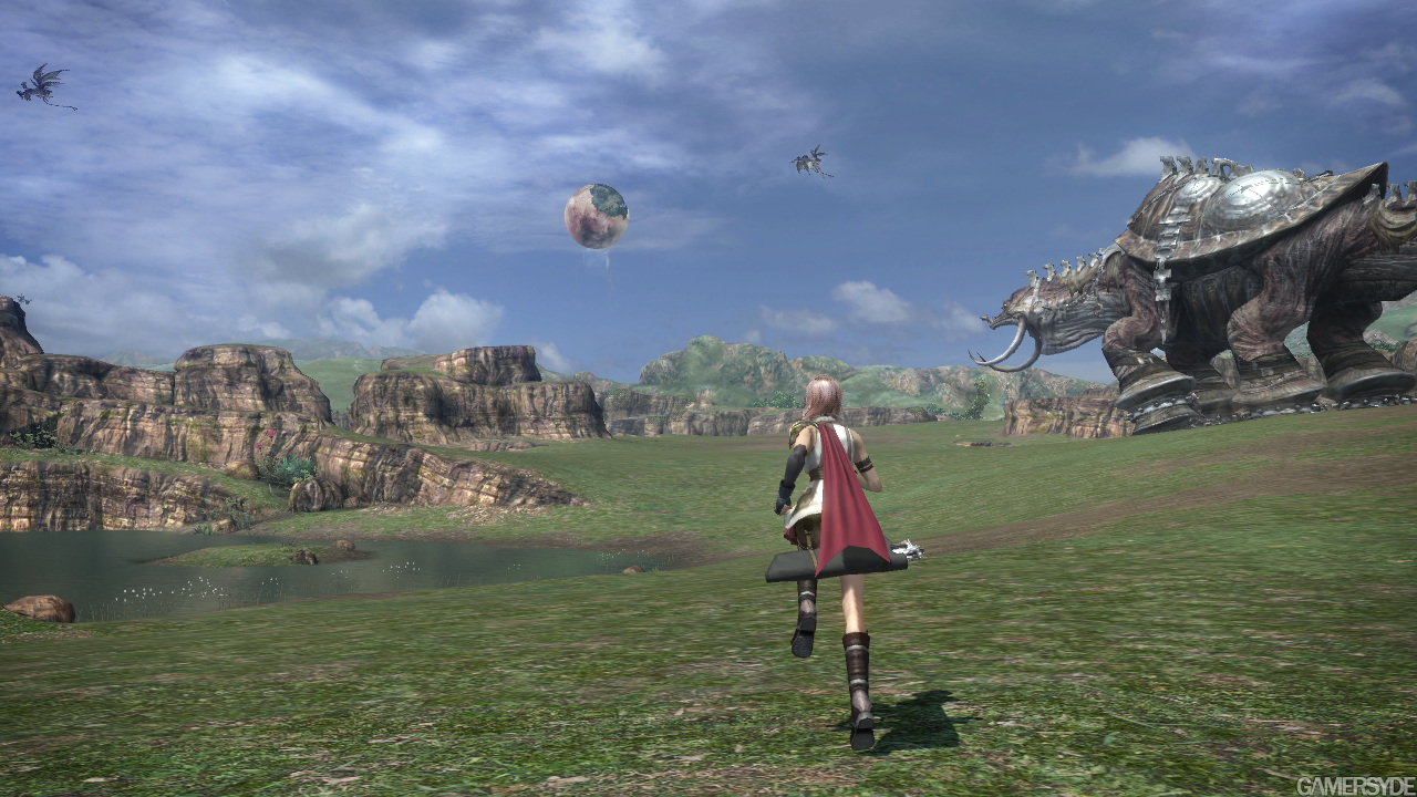 Final Fantasy XIII 4K 100% Crop 360 Comparison : xboxone
