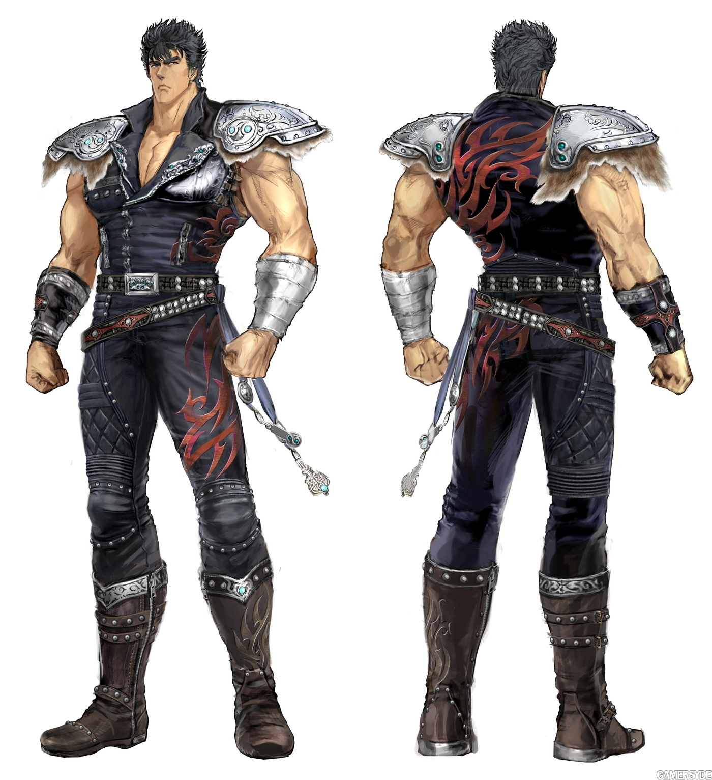 Exactly fist of the north star ken good