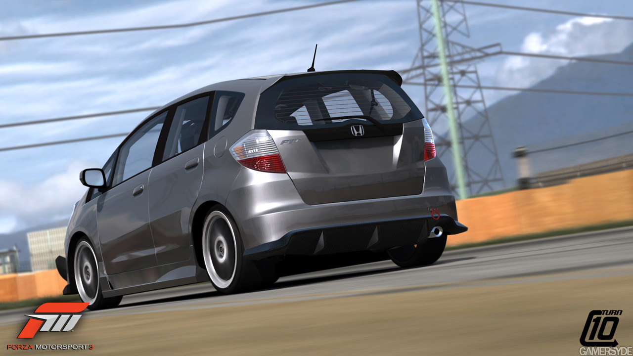 forza 3 ge honda fit is a go   unofficial honda fit forums