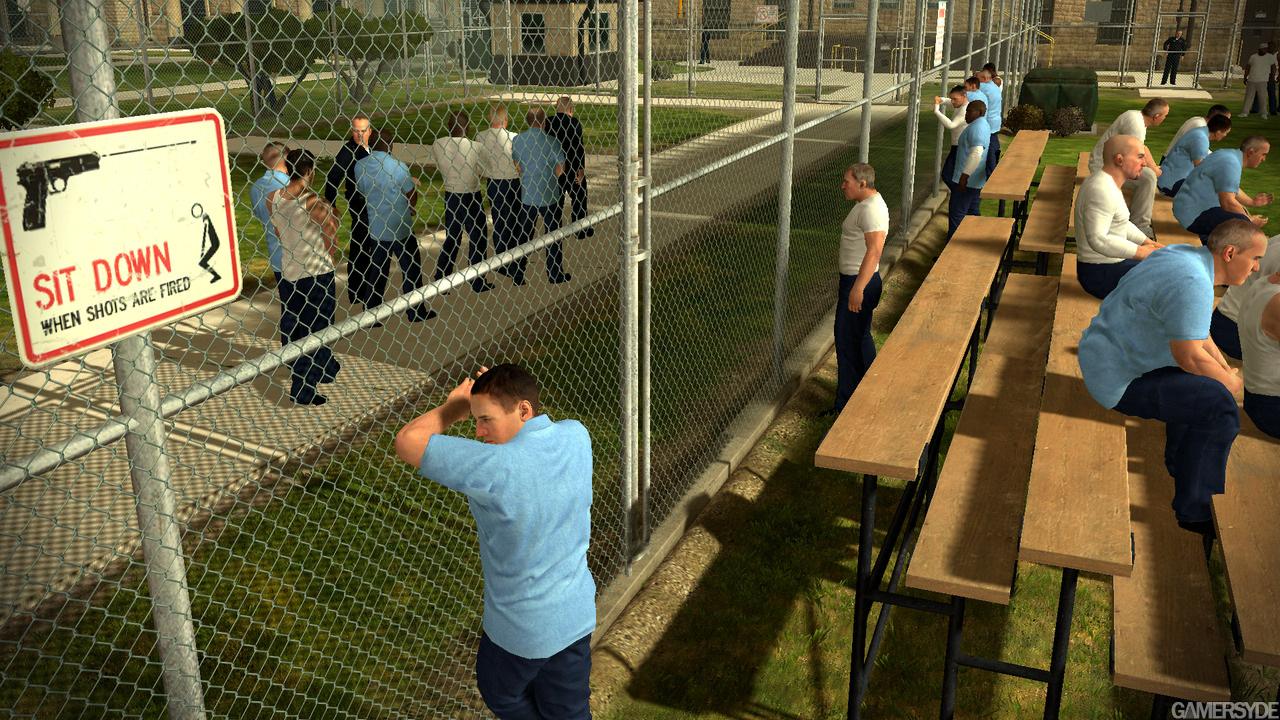 Новые скриншоты Prison Break