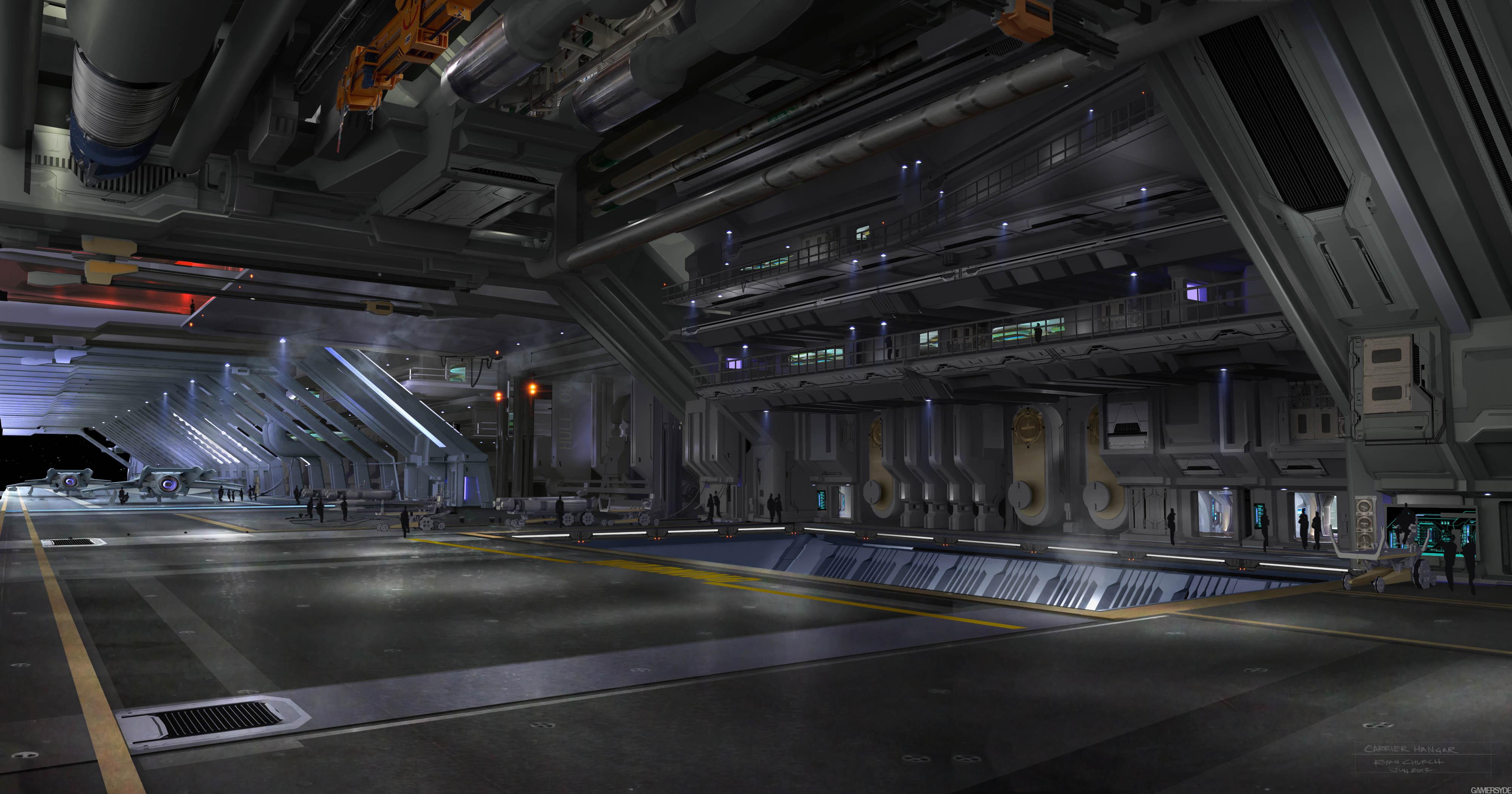 Jeux vid o star citizen a d couvrir agorapolis for Interieur vaisseau star wars