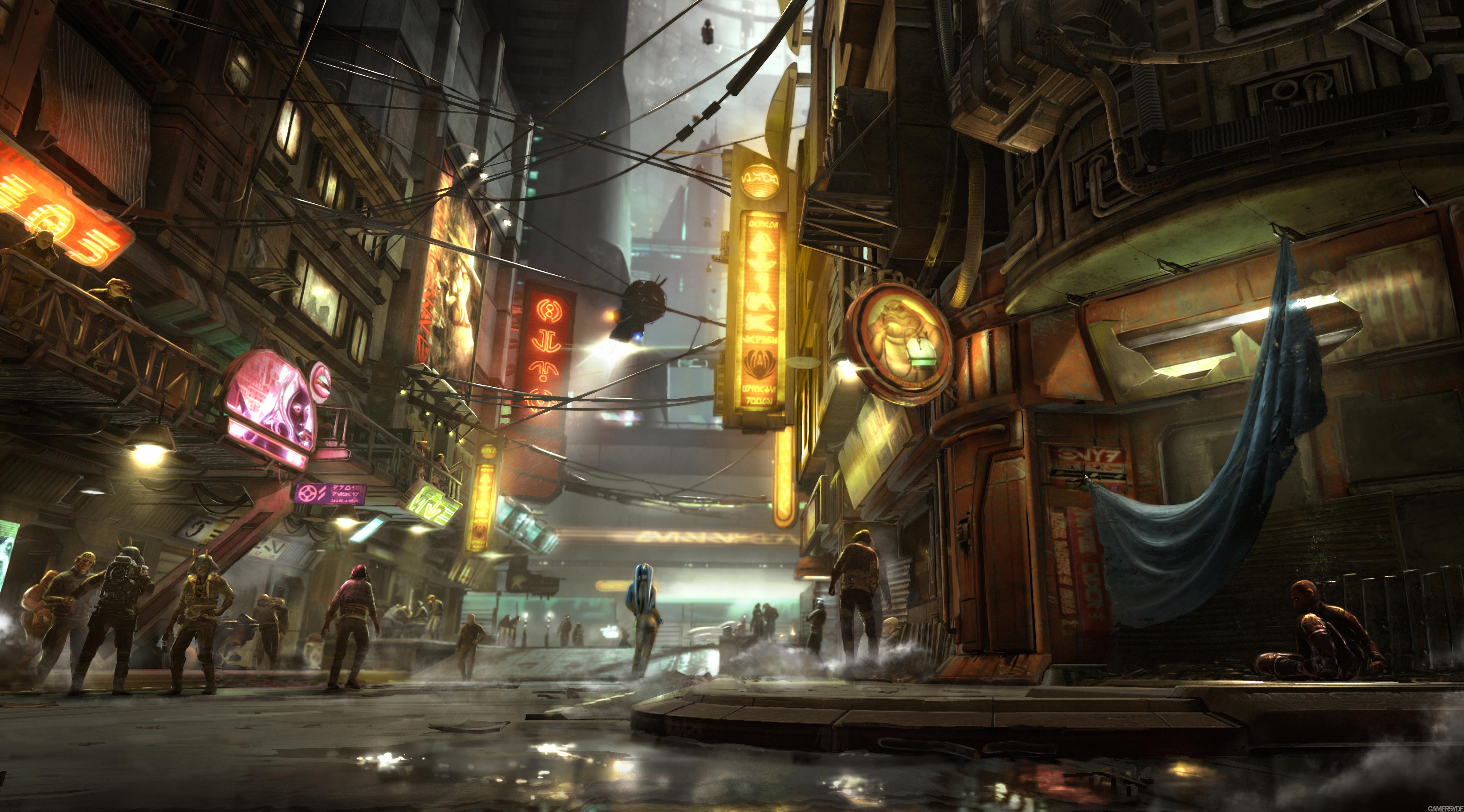 A trend that we will see in next gen- Cyberpunk/Futuristic ...