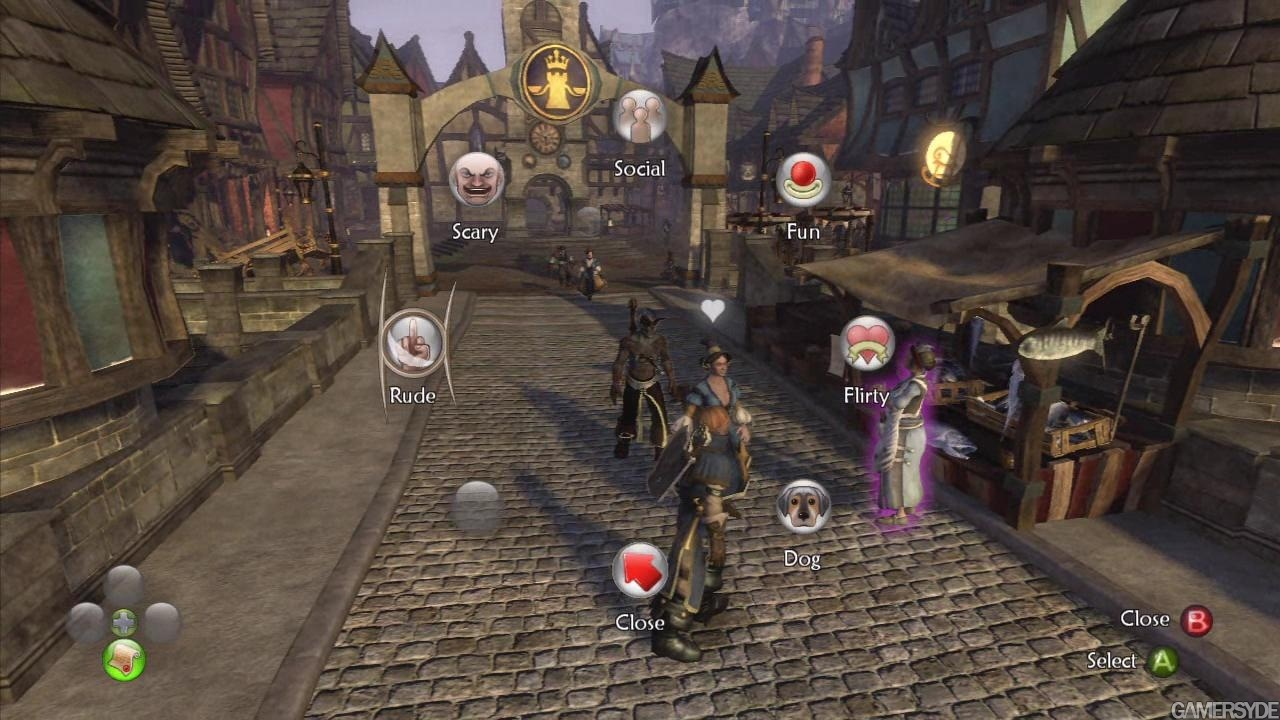Fable 2 - Co-op gameplay video - High quality stream and download